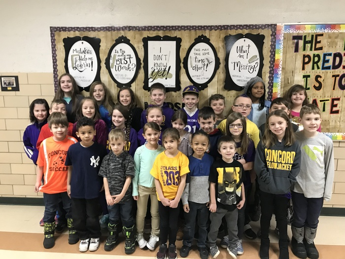 Yellow Jacket of the Week! 2/8/2019