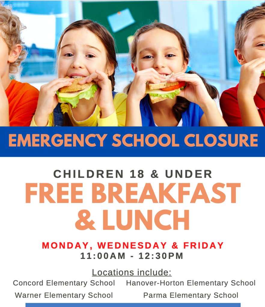 New School Closure Lunch
